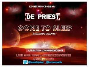 de priest gone to sleep ART 1
